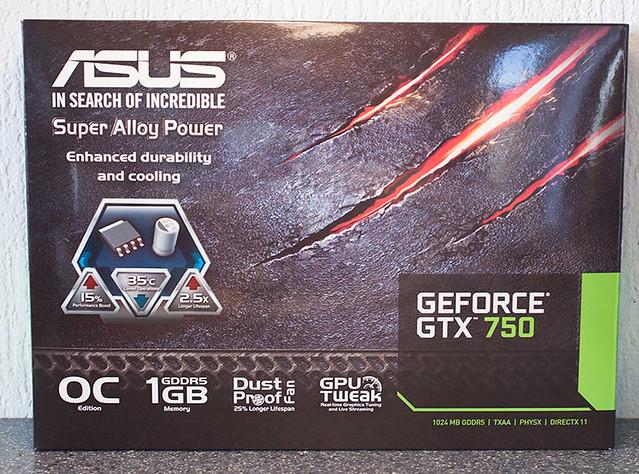[Đập hộp] ASUS GTX 750 OC 1GB - 10243