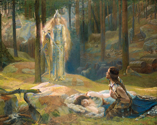 "Gaston Bussière ""The Ring of the Nibelung"" by Art & Vintage"