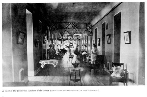 Rockwood Insane Asylum patient ward circa 1880s