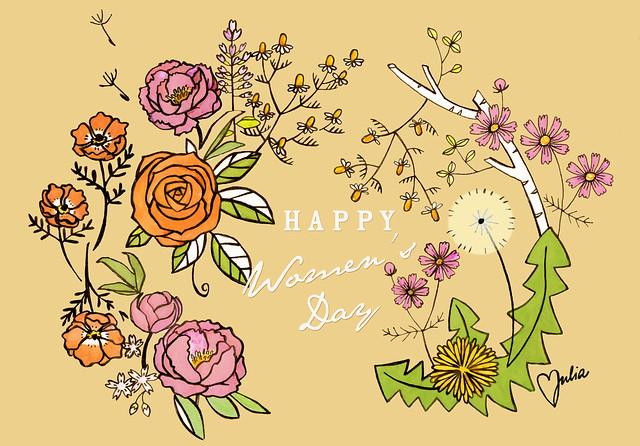 Happy Women's Day 8.3.!
