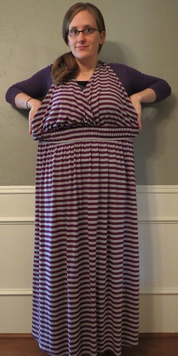 Striped Maxi Skirt - Before