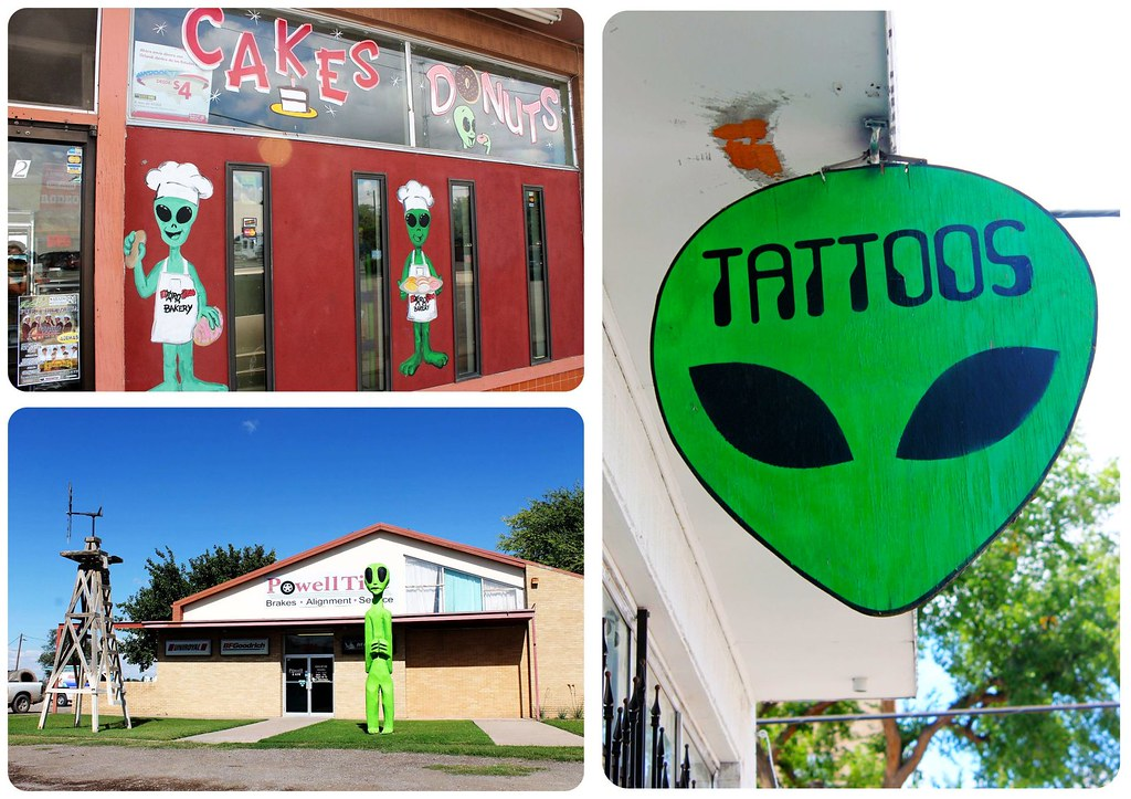 Aliens in Roswell New Mexico