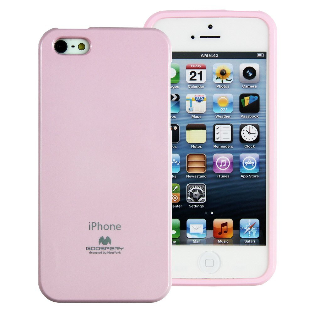 Jelly Case Pink For Apple Iphone 5 5s Made In Korea H1277 Ebay Goospery Pearl All Type Special  Yellow Extremely Slim And Form Fitting With Precise Cutouts Your Luxurious Finished Coatings Vibrant Colors