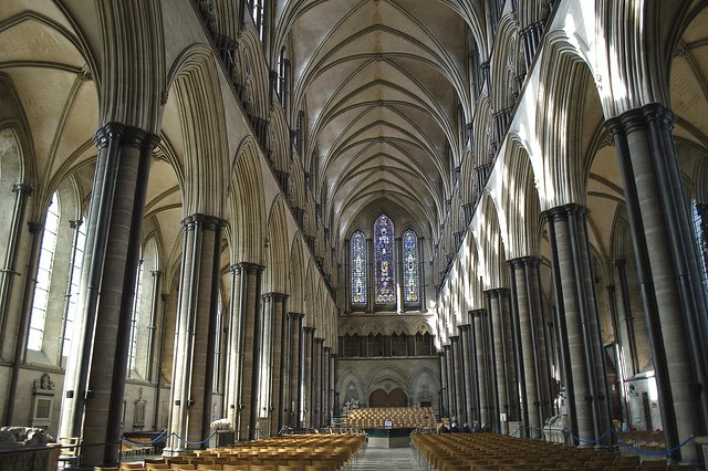 Salisbury Cathedral, Wiltshire (The Nave)