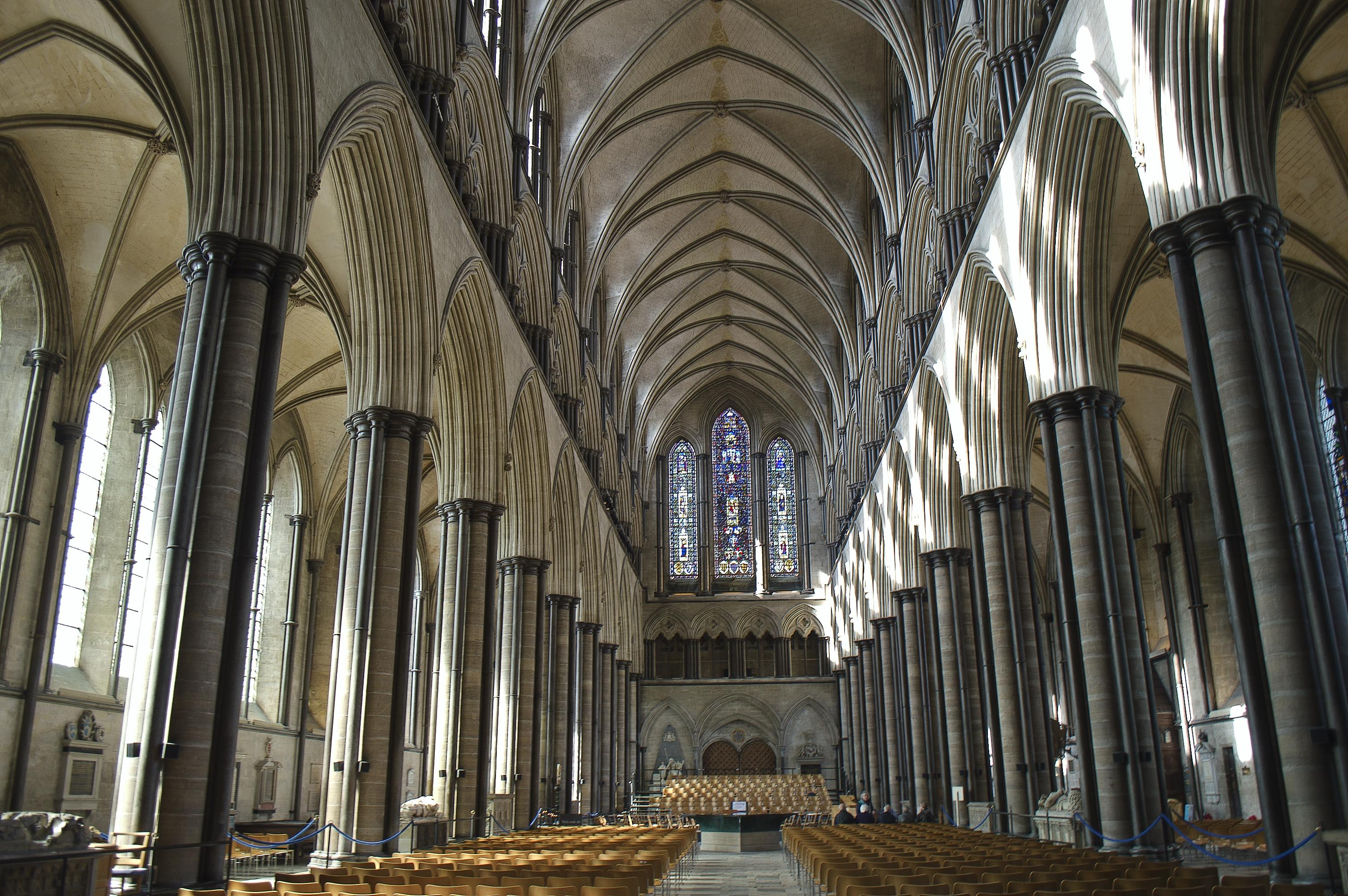 Salisbury Cathedral, Wiltshire (The Nave) | Flickr - Photo ...