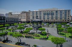 Plaza de Armas desde el balcón