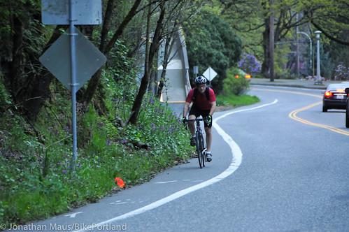 Bike Advisory Committee rides downtown-33