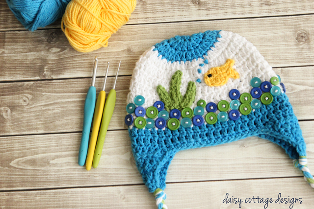 Goldfish Hat Crochet Pattern