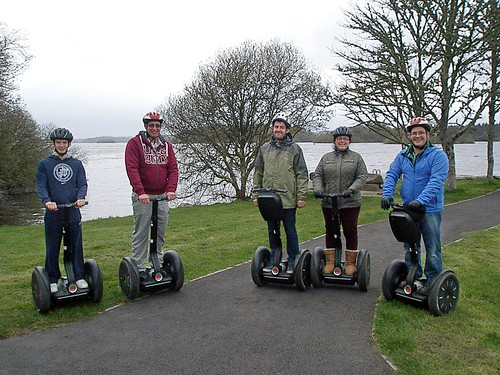 Segway Smiles at Lough Key Forest Park