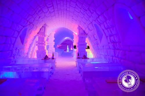 Snow Village Finland Ice Restaurant