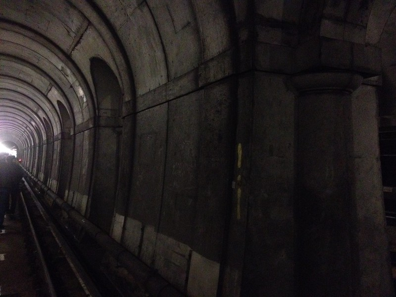 Inside Brunel's Thames Tunnel