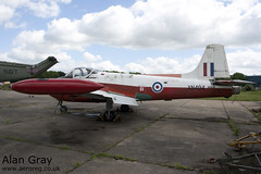 XN494 BAC P.84 JET PROVOST T3A PACW10155 - 25052014 - Bruntingthorpe - Alan Gray - IMG_9301