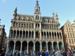 The Maison du Roi (King's House) in Grand Place
