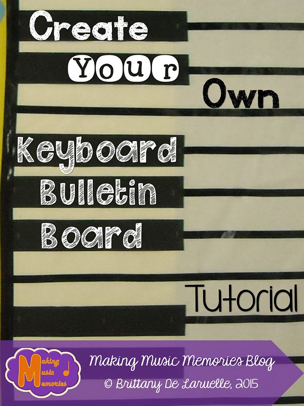 Keyboard Bulletin Board Tutorial - Blog Cover Photo