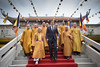 PM visits a pagoda in Vietnam by The Prime Minister's Office