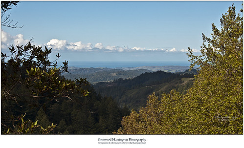 california santacruzcounty santacruzmountains highway9 landscape vista clouds