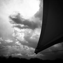 Clouds beyond #clouds #monochromephoto #monochrome #dramatic