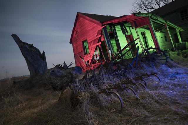 Abandoned Rural Home RGB