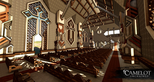 Player made church, Camelot Unchained MMORPG