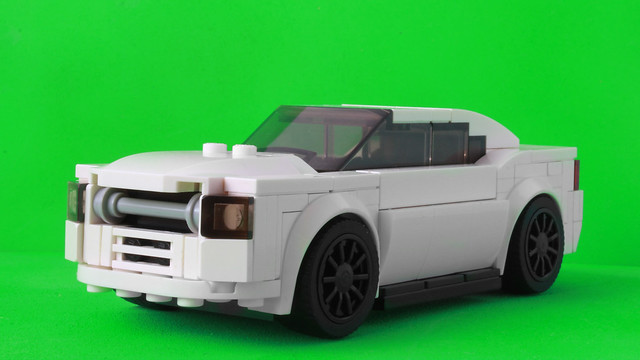 My Lego Dodge Charger with the Speed Champions style