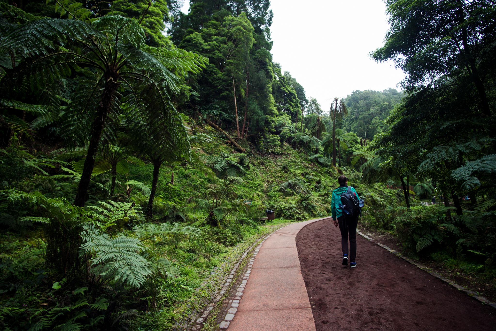 Caldeira Velha park