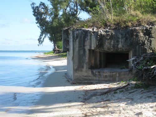 saipan mariana islands japanese bunker susupe beach kummerle