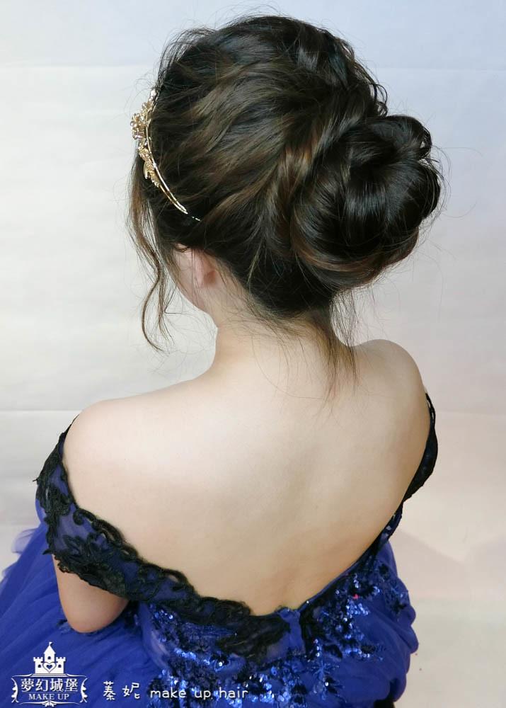 【新秘蓁妮】新娘造型創作 / 氣質包頭