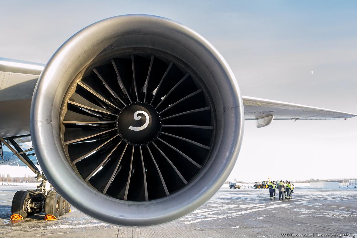 Двигатели Boeing 777