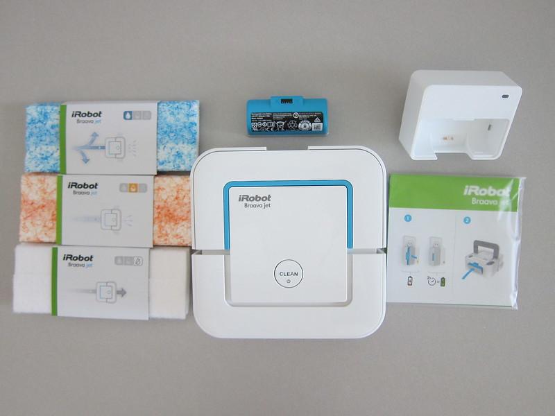 iRobot Braava Jet 240 - Box Contents