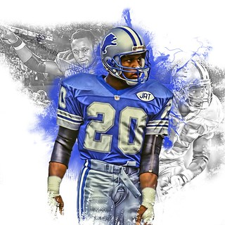 Barry Sanders Photoshop