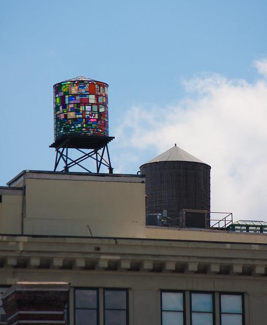 Tom Fruin, Watertower