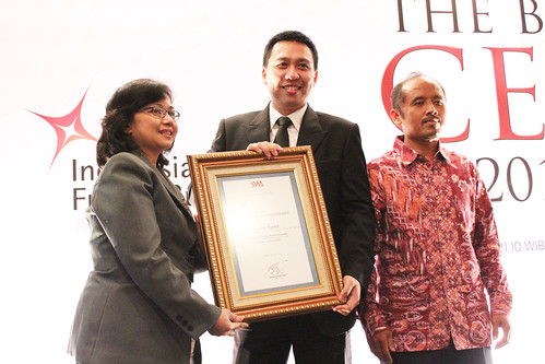 The Indonesia Future Business Leader 2013: Henky Kusno.