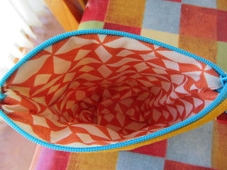 inside of pouch