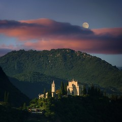 The Madonna of Benaco sanctuary where sunlight meets moon