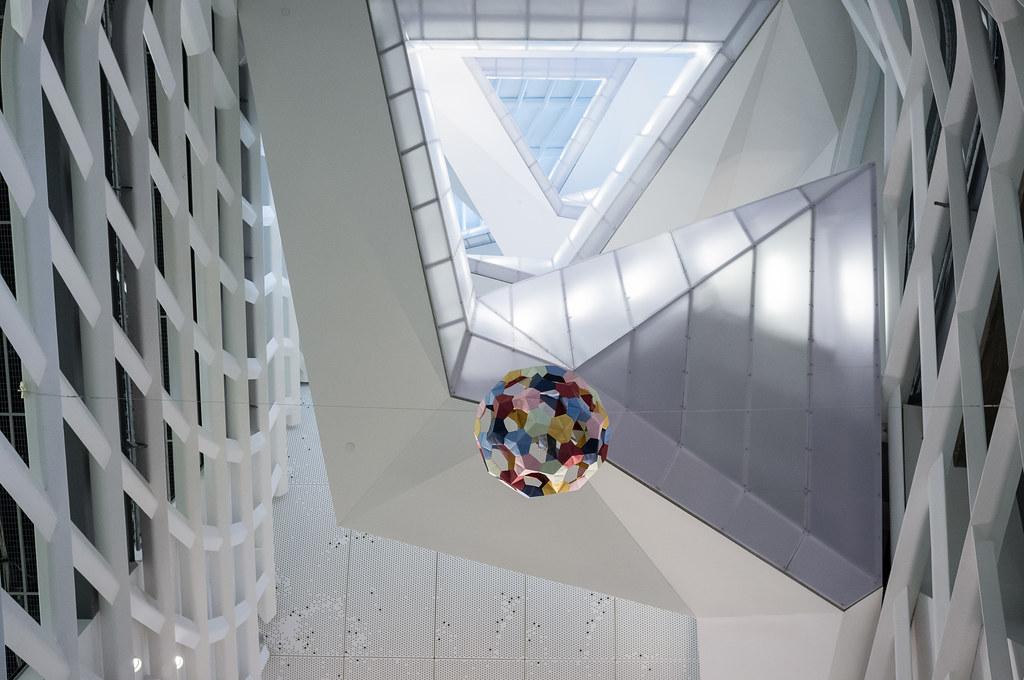 Morphopedia building, Cooper Union by Morphosis