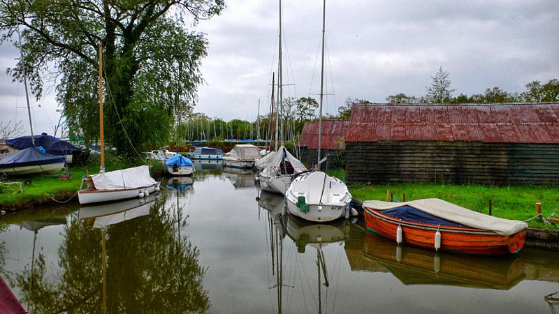 Hickling Broad Boat Yard
