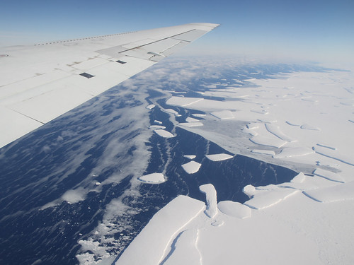 Antarctic Ice Shelf Loss Comes From Underneath