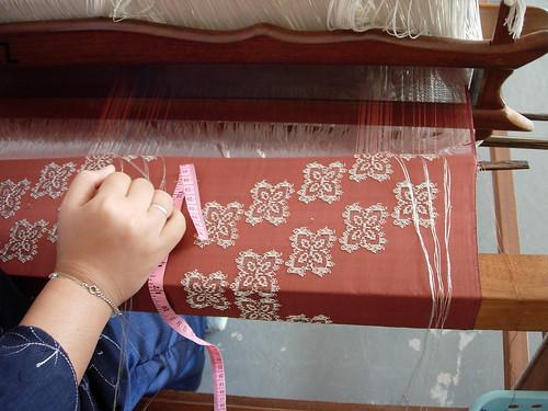 Songket weaving