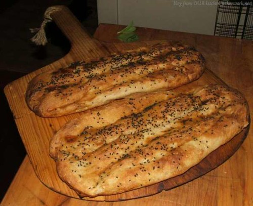 Nan e Barbari (Persian Flatbread) - BBB June 2013