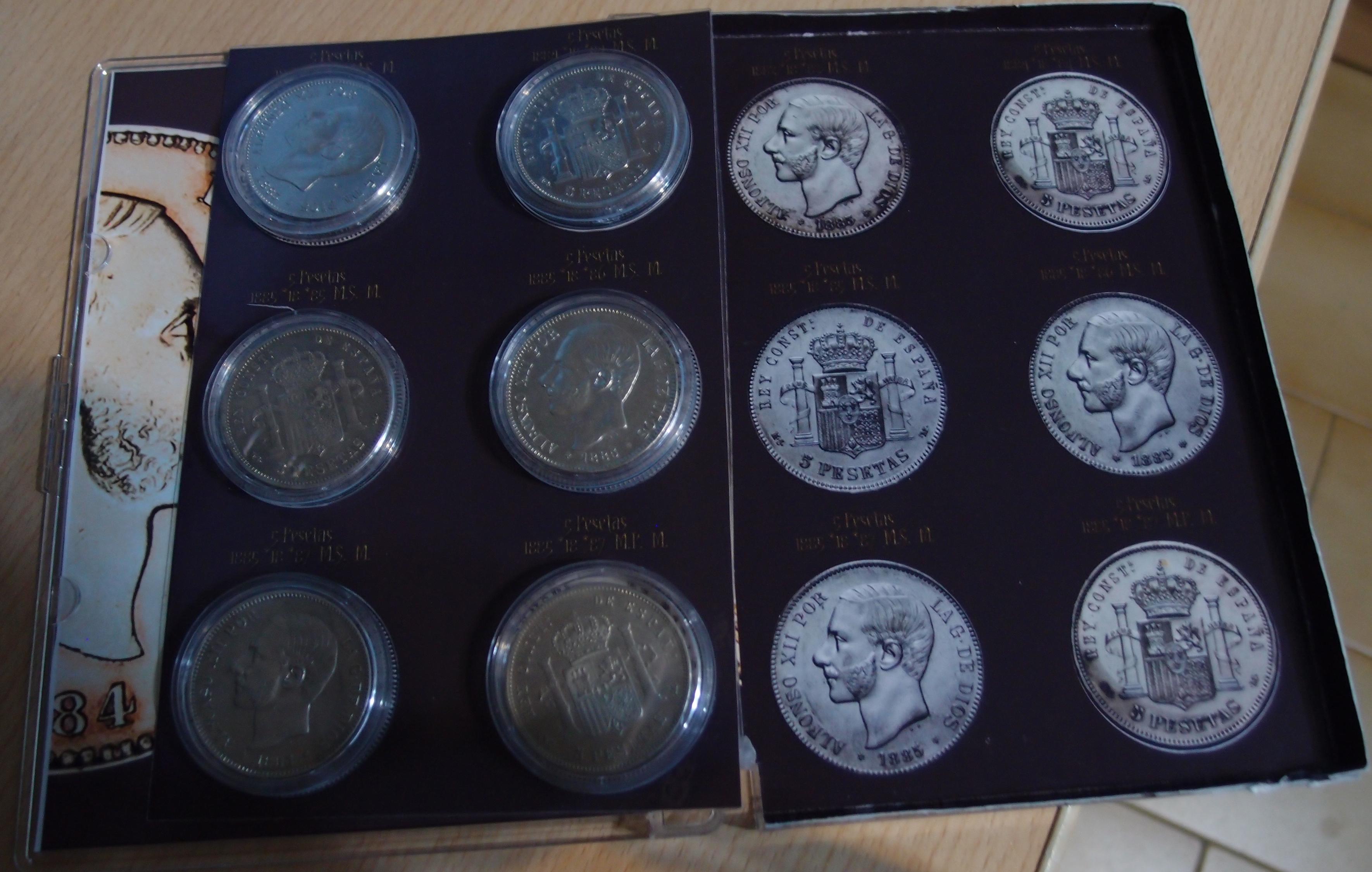 Coleccion Alfonso XII y Monetario 9055601991_fcb09c5aff_o