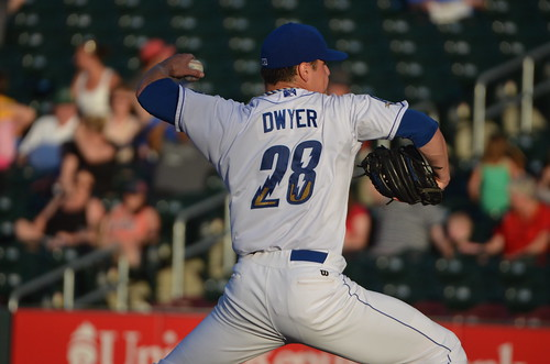 Dwyer, pitchin.