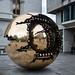 Sphere Within Sphere by neilbruder