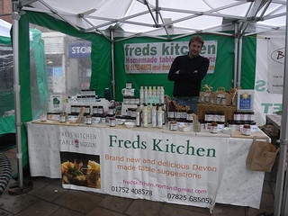 Fred's Kitchen, Exeter Farmers' market