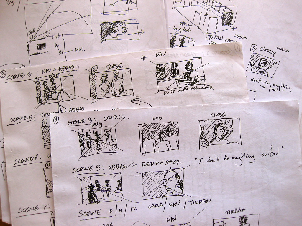 Lapdogs Storyboard