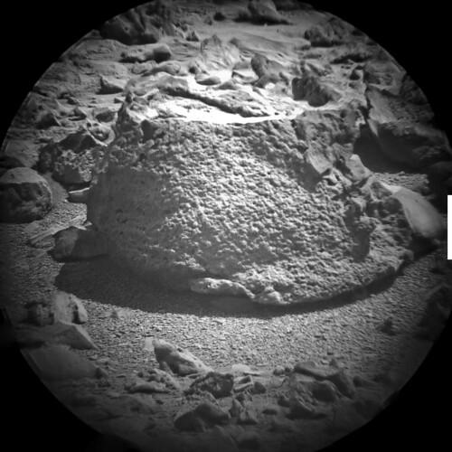 Curiosity sol 316 ChemCam stack