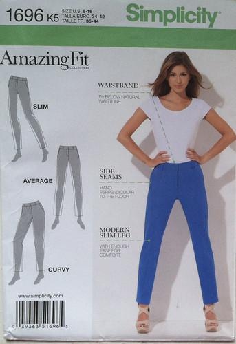 S1696 pants pattern
