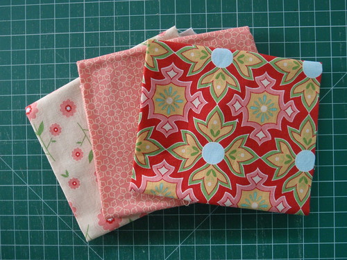 Triple Zip Pouch Swap - option 1