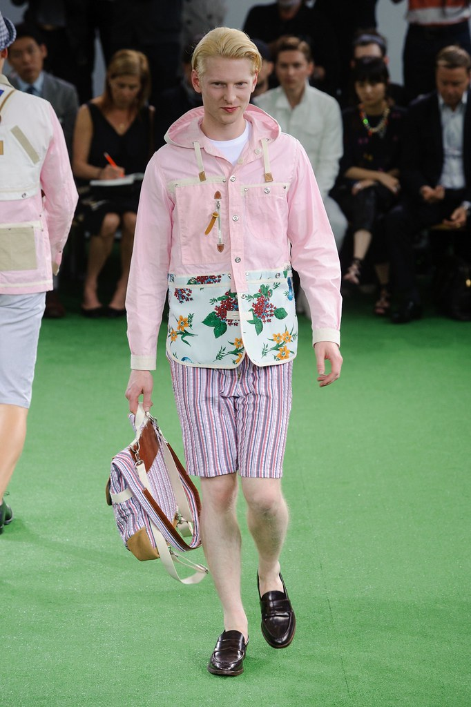 SS14 Paris Junya Watanabe040_Diederick Van Der Lee(fashionising.com)