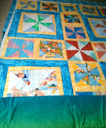 Getting ready to quilt this