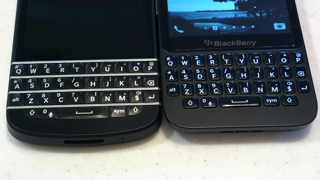 compare between blackberry q10 and q5 have already done